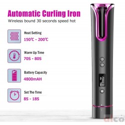 Automatic Curling Iron wand
