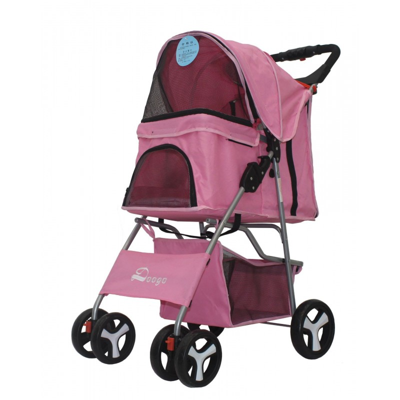 Pet Stroller Cat Dog Jogger Puppy Pushchair Travel Cart ...