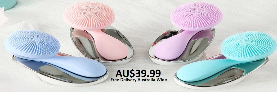 VIBRATION ELECTRIC FACIAL CLEANSING BRUSH